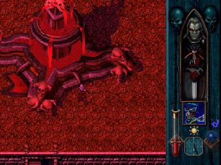 fontaine de sang nouveau pouvoir legacy of kain blood omen ps1